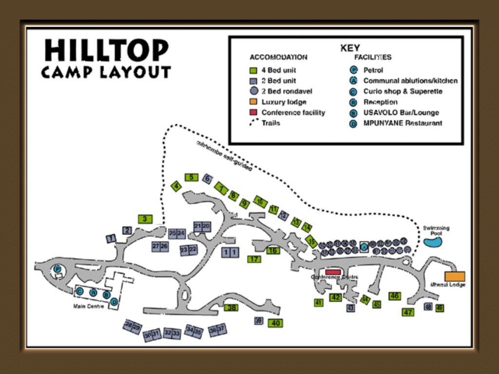 hilltop map layout