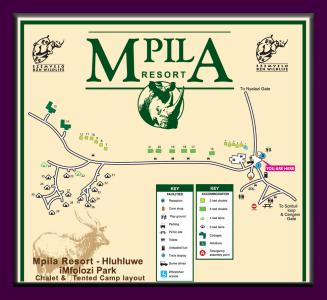 Mpila Umfolozi map