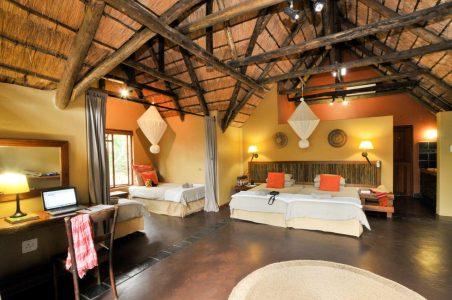 hluhluwe river lodge 4 bed