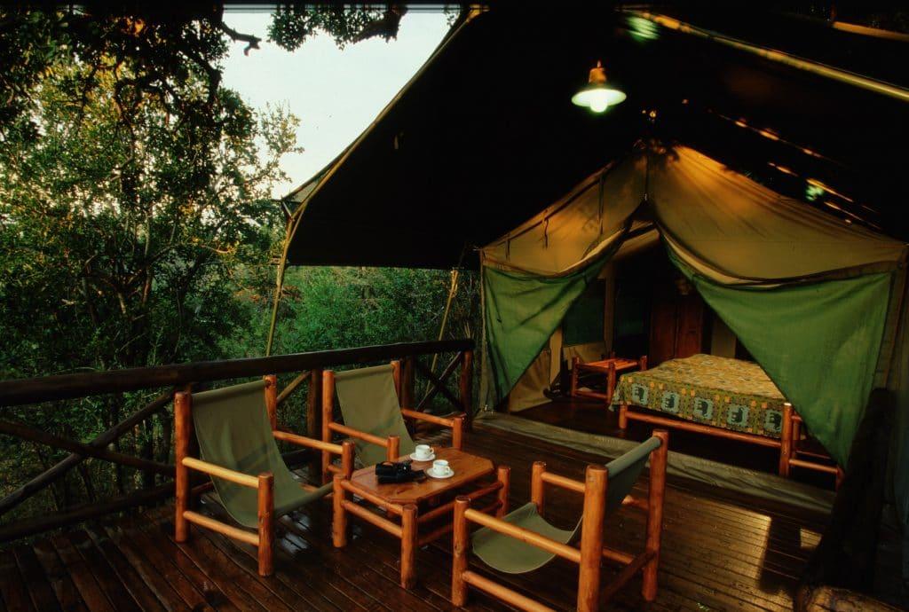 mpila camp 4 bed safari tent